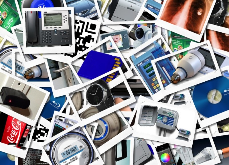A collage of various devices that not only can be hacked, but already have been.