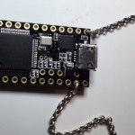 USB microcontroller on chain