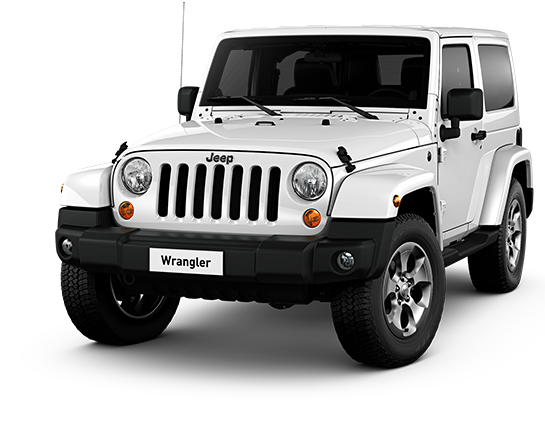 White Jeep Wrangler vehicle