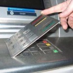 key panel fake cover over real ATM key panel