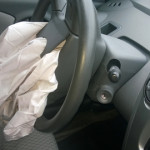 airbag after crash