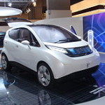 Bluecar electric car