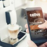 Making coffee from smartphone